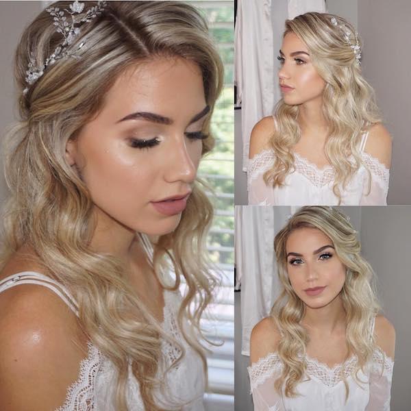 bridal hair salon
